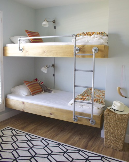 25 Awesome Shared Bedroom Ideas For Kids: 25 Stellar Shared Bedrooms For Kids