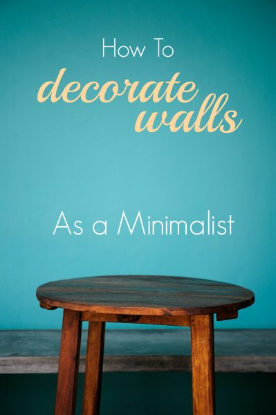 A minimalist home doesn't mean a boring home. Use these tips to decorate walls in your home while keeping things minimalist and simple. How to Decorate Walls as a Minimalist ~ Tipsaholic.com #minimalism #decorating