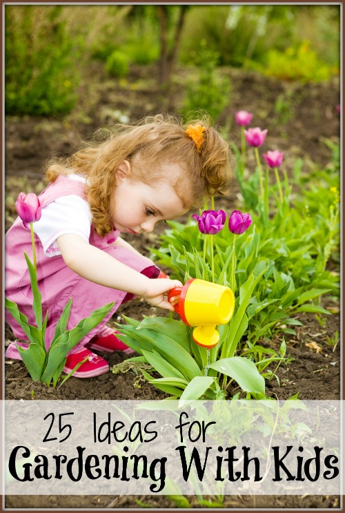 Involve Your Kids In Your Gardening This Year, No Matter How Old They Are.