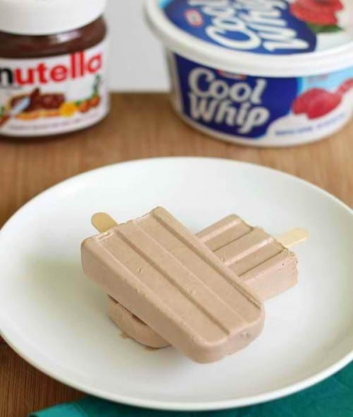 Nutella Pops - Frozen Treats to Make With Kids