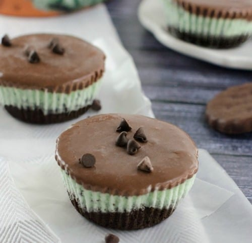 Mint Ice Cream Cookie Cups - Frozen Treats to Make With Kids