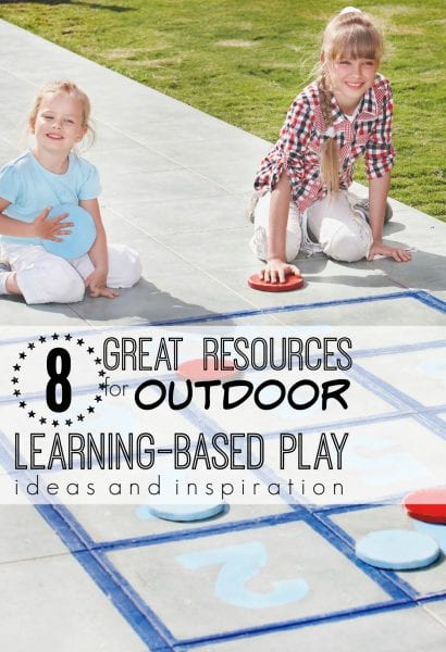 Turn learning into play this summer with these great ideas you can even do outdoors! 8 Great Resources for Learning-Based Play - tipsaholic.com #school, #kids, #playtolearn, #play