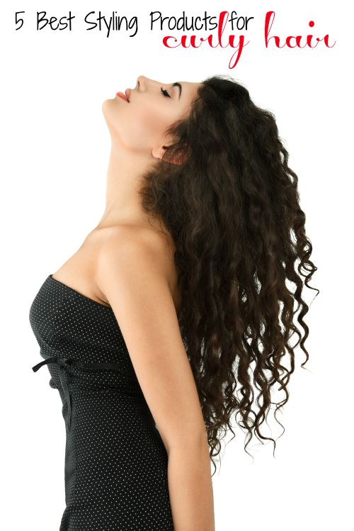 Here are the five best styling products for curly hair that will help you embrace the hair you were born with. 5 Best Styling Products for Curly Hair - Tipsaholic.com #hair #hairproducts #curly #curlyhair #beauty #hairstyling #curlyhairstyle #curlyhairstyling