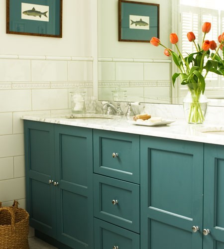 Attrayant 25 Inspiring And Colorful Bathroom Vanities Via @tipsholic #bathroom  #vanity #colorful #