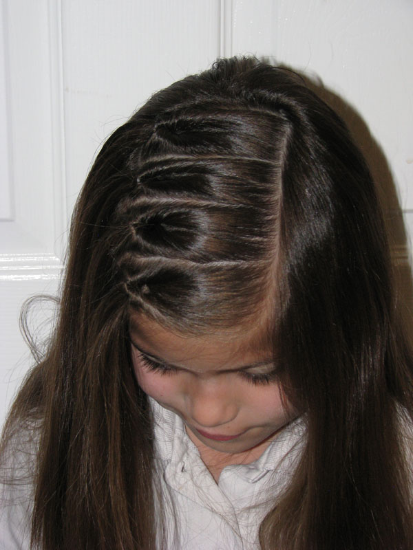 Remodelaholic 8 Easy Hairstyles For Little Girls
