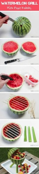 Watermelon-Grill-with-Fruit-Kabobs-