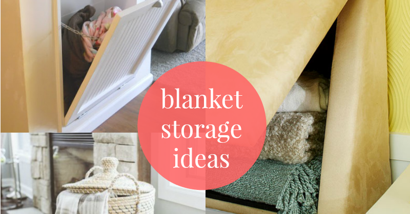 Remodelaholic 5 Easy Ways To Store Blankets